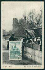 FRANCE MK 1947 PARIS NOTRE DAME MAXIMUMKARTE CARTE MAXIMUM CARD MC ei02