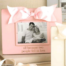 Divine Mud Pie ~ All Beacause Two People Fell In Love ~ Wood Picture Photo Frame