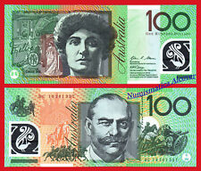 AUSTRALIA 100 Dollars dolares 2010 PICK 61b Polymer  SC  /  UNC