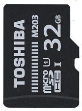 Toshiba 32GB MICRO SD HC SDHC Memory Card Class 10 UHS-I Class A1 100MB/S