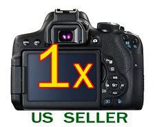 3 un Protector de Pantalla LCD Transparente Película Protectora Para Canon EOS 550D REBEL T2i