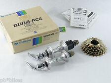Dura Ace Hub set w cassette Shimano EX 7100 36 h 126mm Vintage Bicycle NOS