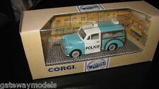 CORGI CLASSIC 1/43 MORRIS MINOR TRAVELLER POLICE CAR AWESOME LOOKING CAR #96873