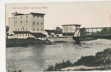 USA, Flat River Scene, Greenville, Mich. Postcard, B367