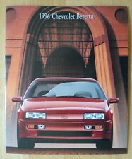 CHEVROLET Beretta 1996 range glossy deluxe brochure catalog - Coupe & Z26