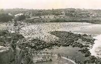 A0 Vintage Sydney beach Bondi Bronte Nsw photo old landscape black white print