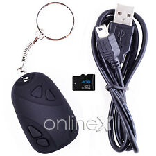 Mini DVR Llavero Espía Cámara Oculta Spy Cam + Tarjeta 4GB a0905