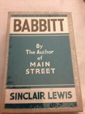 Babbit, Sinclair Lewis, First Edition Library (FEL), Replica (SEALED)