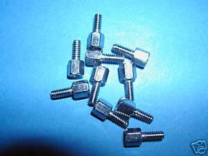 UNC 4/40 Schraubbolzen für D Sub DSub  100 Stück