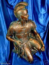 Statua Soprammobile eff. Bronzo CENTURIONE ROMANO 58cm