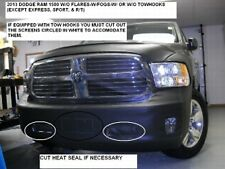 Lebra Front End Mask Cover Bra Fits 2013-2017 DODGE Ram 1500 with Fogs