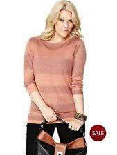 So Fabulous Space Dye Cowl Back Jumper Orange Ladies UK Size 22 Box40 09 H