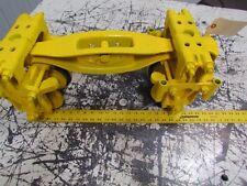 "Heavy Duty Straight/Curved Beam Hoist Push Trolley 3-1/2"" Rail Bridge End Truck"