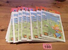 Bob The Builder 12 Packs Of 20 Party Invitations & envelopes Bulk Buy