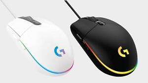 Logitech G203 LIGHTSYNC Wired Optical Gaming Mouse for PC and Mac