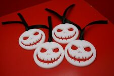 4 x Jack Skellington Xmas Tree Decoration Dec Acrylic Nightmare Before Christmas