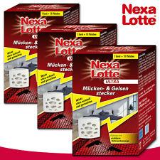 Substral Nexa Lotte Ultra 3 Pièce Nematocera- & Gelsenstecker Par 10 Plaquettes)