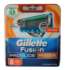 New Gillette Fusion Proglide Power Blades 8 Cartridges BRAND NEW SEALED