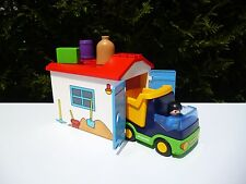 ♥ Playmobil 123, Camion Avec Garage, Réf: 6759