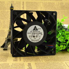 2 PCS DELTA FFB1212SHE Cooling Fan DC 12V 2.25A 120mm x 120mm x 38mm