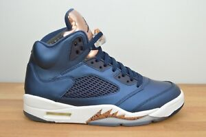 WORN TWICE NIKE AIR JORDAN 5 RETRO Bronze Medal Size 9 136027-416