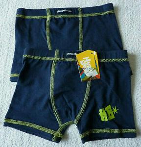 Lot de 2 boxers garçon caleçons bleu sous vêtement taille 4 ans neuf