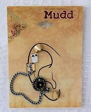 Mudd Owl and Spike Stud Earring and Ear Cuff Set