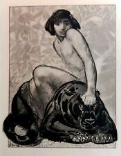 PAUL JOUVE MOWGLI & BAGHEERA   1931