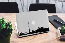 Toronto Skyline Decal for Macbook Pro sticker vinyl air mac 13 15 11 laptop skin