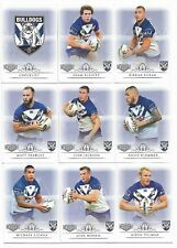 2018 NRL Elite Canterbury-Bankstown BULLDOGS 9 Card Mini Team Set