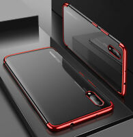 Clear Case Cover For Huawei P30 Pro Ultra Slim Shockproof Silicone Plating