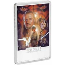 Niue 2 Dollar 2018 Die Dunkle Bedrohung - Star Wars™ Posters (4.) 1 Oz Silber PP