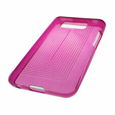 For LG Optimus Elite LS696 TPU CANDY Gel Flexi Skin Case Cover Hot Pink Plaid
