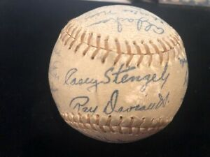 (2) 1963 & 1969 New York Mets Stamped Autographed Stadium Ball
