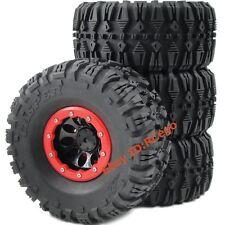 4pcs New RC 2.2 135mm Tires & 2.2 Beadlock Wheels Rims For 1/10 RC Crawler Truck