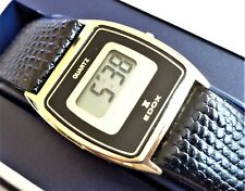 Vintage EDOX Swiss Made, New Old Stock Digital Unisex Dress Wristwatch. NOS