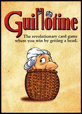 Avalon Hill  Games: Guillotine Card Game (New)