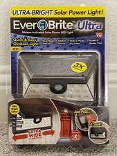 New listing EverBrite Ultra Motion-Activated Outdoor Solar Power Led Light