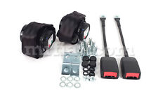 Fiat 850 124 Spider Retractable Seat belt Set New