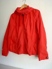Ladies Lovely Bhs Authentic Coral Pink Light Waist Length Zip Jacket Size 14, Vg