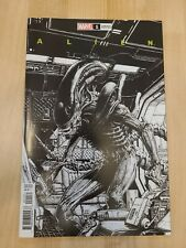 Marvel Comics Alien 1 Premiere Finch B&W One per store Variant 2021