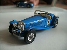 Matchbox Models of yesteryear 1934 Riley M.P. H. in Blue on 1:43