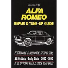 ALFA ROMEO GIULIETTA GIULIA TI Service Repair Workshop Manual Owners Handbook