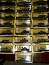 Bulk Clearance of 22 Different DeAgostini 1:72 Die Cast Model Tanks