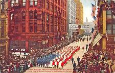 St Paul MN Living Flag School Children Decoration Day in 1912  Postcard