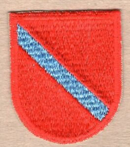 Army Beret Flash Patch:  Special Forces Aviation - cut edge