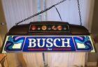 •EUC• Rare Vintage •Busch Beer Pool Billiards Table Light• Read Description