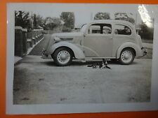 FORD ANGLIA-2 DOOR 1948 BLACK & WHITE PHOTO--FREE POSTAGE