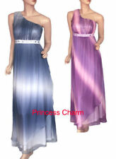 Chiffon One Shoulder Regular Size Dresses for Women