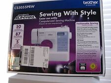 Brother Portable Sewing Machine - Project Runway Edition CS5055PRW